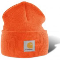 Bonnet tricoté Carhartt-Orange