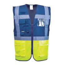 Gilet Haute Visibilité Portwest Executive Paris Bicolore
