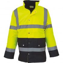 Veste de sécurité bicolore haute visibilité YOKO GO/RT 3279