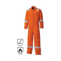 Combinaison de travail ignifugé Dickies pyrovatex orange