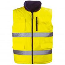 Gilet haute visibilité mutlipoches Coverguard Hi-way jaune