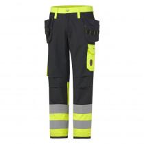 Pantalon h aute visibilité ignifugé ABERDEEN CONSTRUCTION CLASS 1 H...