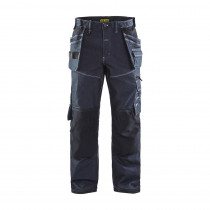 Pantalon de travail artisan Blaklader X1900 stretch genoux préformés