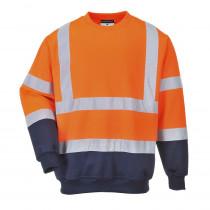Sweat shirt Haute Visibilité Portwest Bicolore HiVis