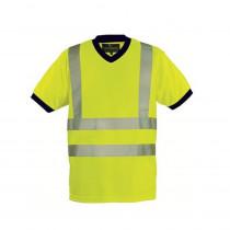 T-shirt haute visibilité Coverguard Yard Col V