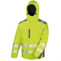 Veste softshell haute visibilité Result Dynamic Softshell Coat Clas...
