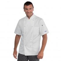 Veste de cuisine blanche Polycoton Isacco Cuoco