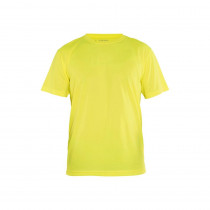 T-shirt Blaklader Technique Jaune face