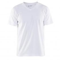 T-shirt col v Homme Blaklader
