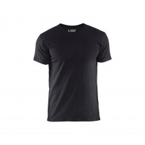 T-shirt slim fit Blaklader Noir