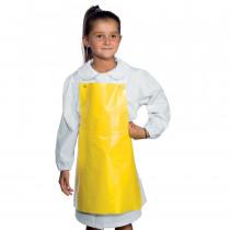Tablier enfant imperméable Isacco jaune