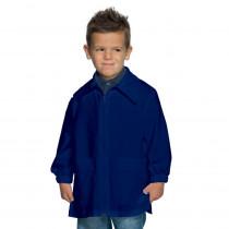 Blouse bleu enfant Isacco zippée 6 à 11ans