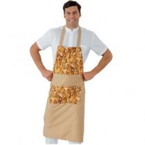 Tablier à bavette Boulanger Patissier Isacco Daytona Bread