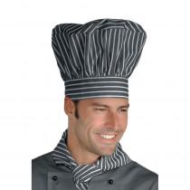 Toque de chef cuisine Isacco grise Londra
