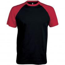 T-shirt bicolore manches courtes Kariban