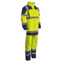 Ensemble de pluie veste + pantalon haute visibilité Coverguard Hydra