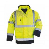 Parka de travail haute visibilité Coverguard BREATHANE AIRPORT 4 EN 1