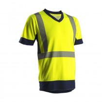 T-shirt haute visibilité manches courtes Coverguard KYRIA 100% poly...