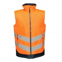 Bodywarmer isolant Regatta Professional HI-VIS PRO