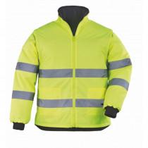 Veste haute visibilité 2en1 manches amovibles Coverguard Roadway