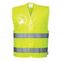 Gilet haute visibilité avec porte-badge double entrée Portwest Vest...