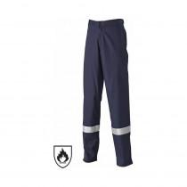 Pantalon de travail ignifugé Dickies pyrovatex marine