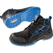 Baskets de sécurité montantes Puma Krypton Blue S3 ESD SRC