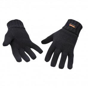 Gant tricot doublé Insulatex Portwest  noir