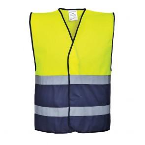 Gilet sécurité haute visibilité Portwest bicolore