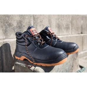 Chaussures de sécurité RESULT Defence noir orange