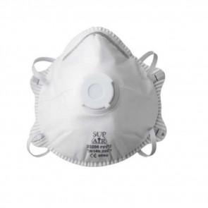 Masque respiratoire coque avec valve Sup Air FFP2 D NR SL