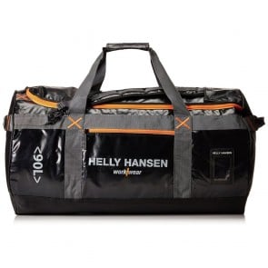 Sac Duffel 90L Helly Hansen noir orange