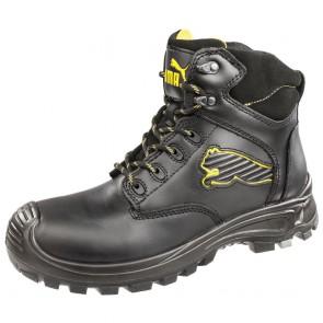 Chaussures de sécurité montante Puma Borneo Black Mid S3 SRC