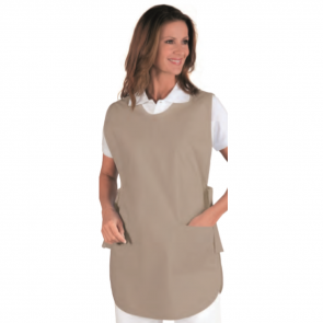 Blouse médicale femme Isacco Poncho Marron clair