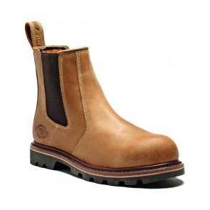 Chaussures de sécurité montantes Dickies Dealer II Miel