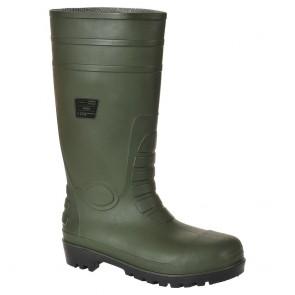 Bottes de sécurité Wellington S5 Portwest vert