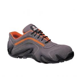 Chaussure de sécurité basse Lemaitre S1 Coolgrey SRC gris orange