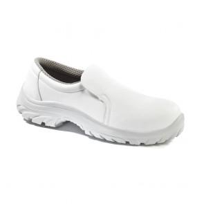 Chaussures de cuisine basses Lemaitre Baltix S2 SRC Blanches