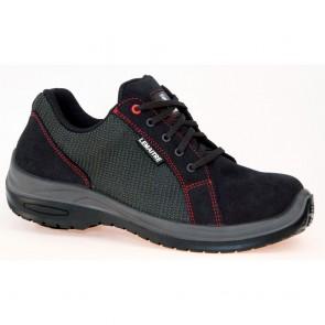Chaussures de sécurité basses Lemaitre Roller S1P SRC Noir/Rouge