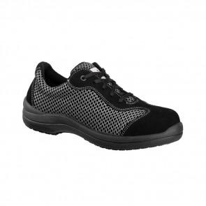 Chaussure de sécurité basse femme Lemaitre S1P Reseda SRC grise/noire