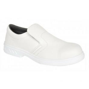 Chaussures de cuisine Portwest Mocassin S2 Blanc