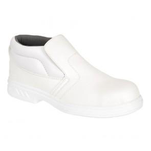 Chaussures de cuisine montantes Portwest S2 - Blanc