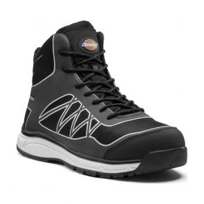 Chaussure de sécurité montante Dickies Phoenix S3 SRC Noir/blanc