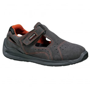 Sandales de sécurité Lemaitre Sprinter S1 SRC Gris/Orange