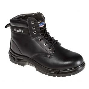 Chaussure de sécurité Portwest brodequin Steelite S3 - Noir