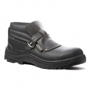 Chaussure de sécurité montante en cuir doublée de Tybrelle Coverguard Quartz S3 SRA coté 1