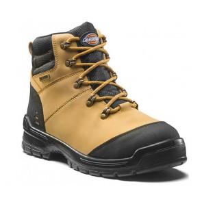 Chaussures de sécurité montantes Dickies Cameron S3 WR SRC beige