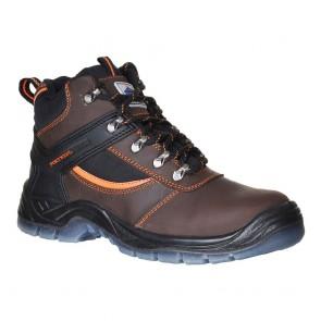 Chaussures de sécurité montantes Portwest Brodequin Mustang Steelite S3 - Brun 1