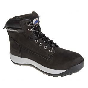 Chaussures de sécurité montantes Portwest Brodequin Constructo Nubuck S3 HRO