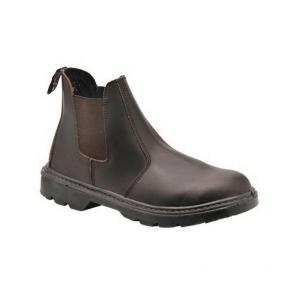 Chaussures de travail montantes Portwest S1P Bottillon Steelite Dealer marron
